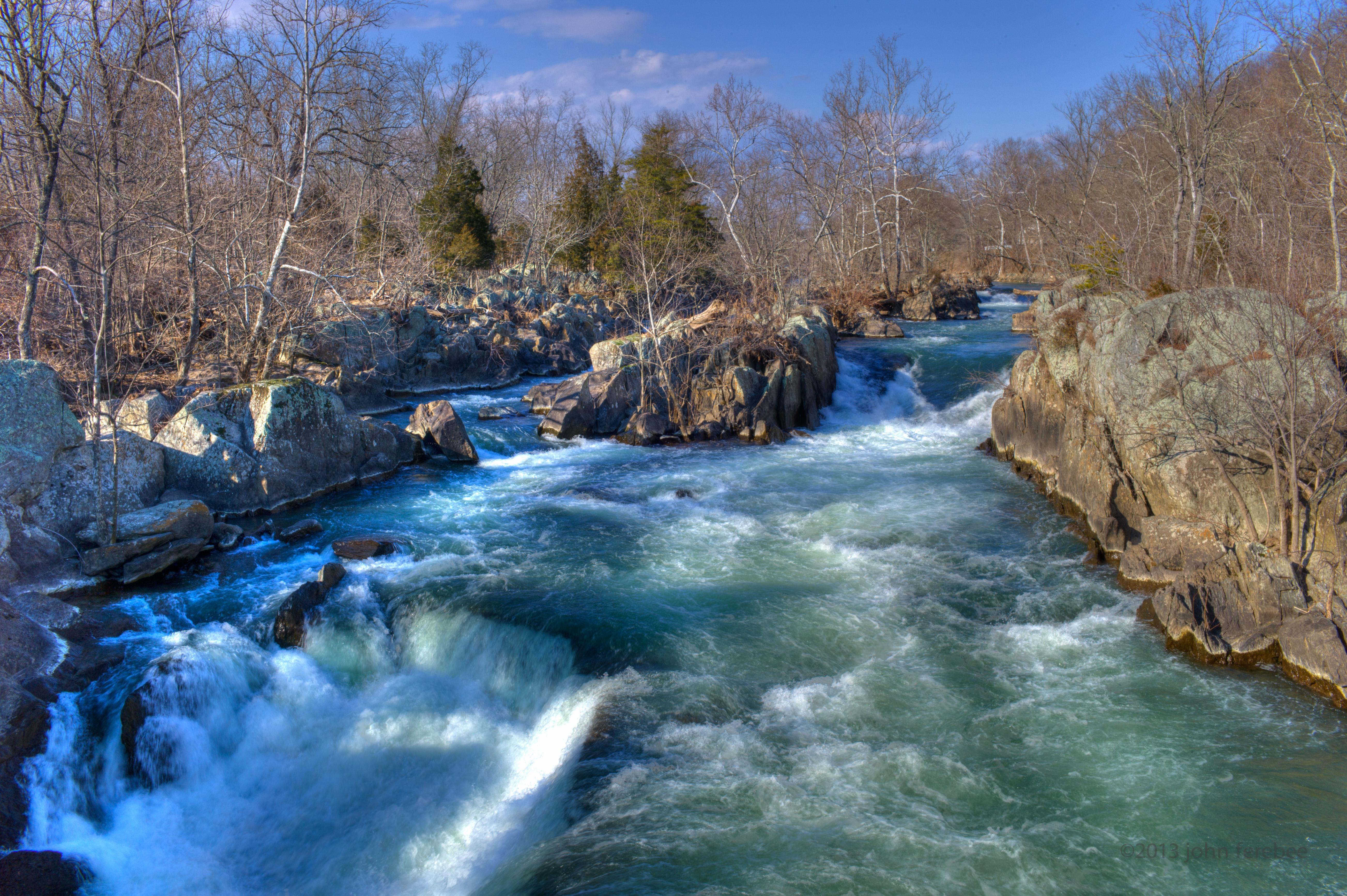 Patomic River Great Falls Park