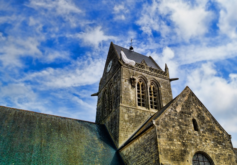 Sainte-Mere-Eglise, France